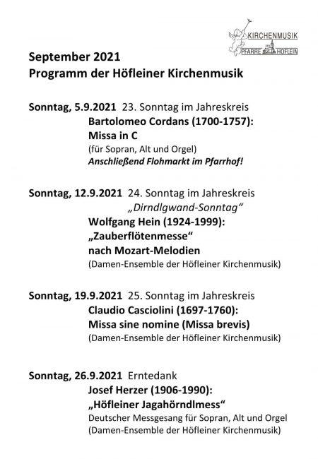 Programm Kirchenmusik - September 2021-1